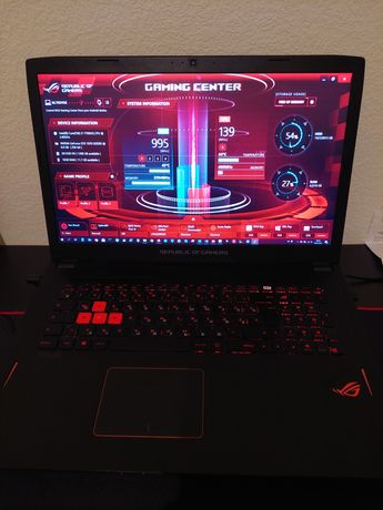 """Игровой ноутбук 17.3"""",Core i7,GTX1070"""