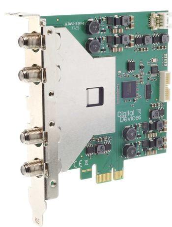 Digital Devices Max SX8 Pro (4/8) - 8 Tuner TV Card - DVB-S2