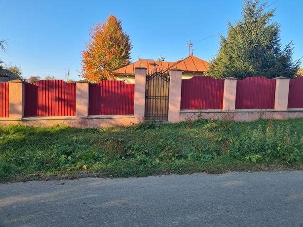 Vând teren+casa bătrânescă Ion Creanga