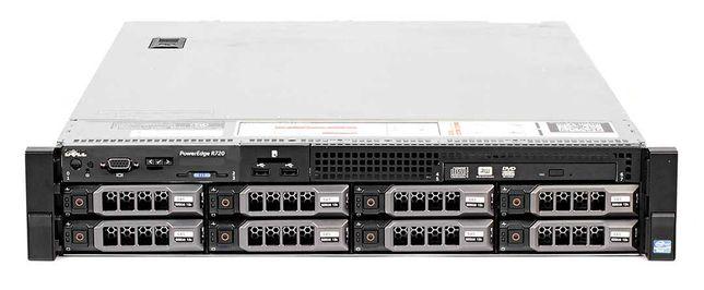 Сервер Dell R720 LFF/ 24потока/ 32Gb ОЗУ/ 2*750 Watt