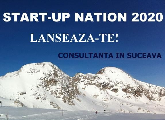 Oferim consultanta pentru Start-Up Nation 2021