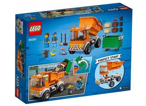 60220 - LEGO City Camion pentru gunoi