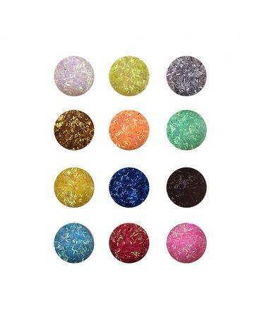 Фина блестяща декорация за арт маникюр, нокти, ноктопластика - 12 цвят
