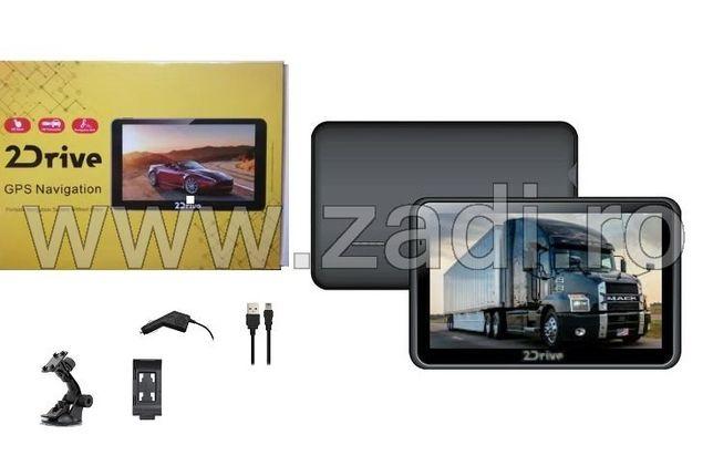 """GPS pentru camioane si autoturisme, ecran 7""""-garantie 2 ani"""