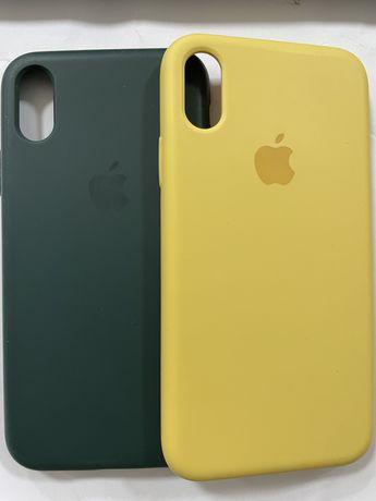 Чехлы на iPhone X по 500 тг(шт)