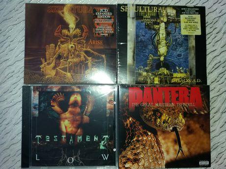 Thrash,Death Metal - нови запечатани дискове
