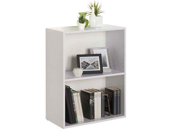 Бяла етажерка-60х32х76.8 см./етажерка за книги/етажерка библиотека