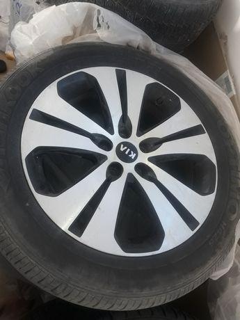 Продам титановые диски на Kia Sportage орегенал