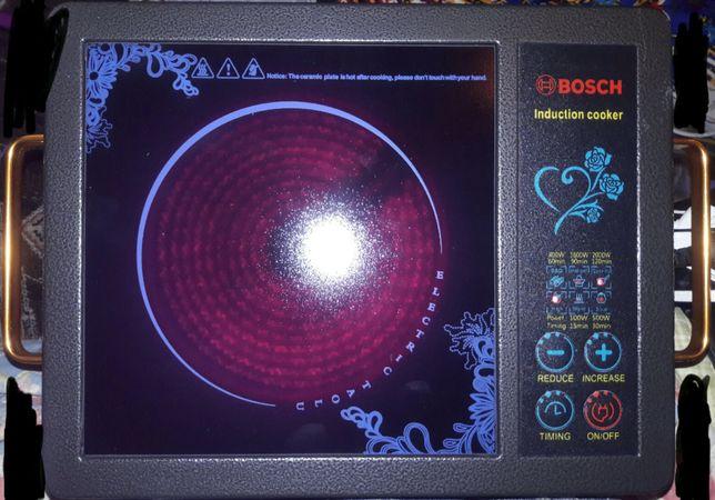 Инфракрасная плита Bosch  электрическая конфорка электроплита сенсор