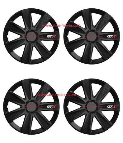 """Тасове за джанти 14""""15""""16"""" Versaco Carbon GTX - Black"""