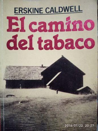 """Vând cartea """" El camino del tabaco """" de Erskine Caldwell 5 lei"""