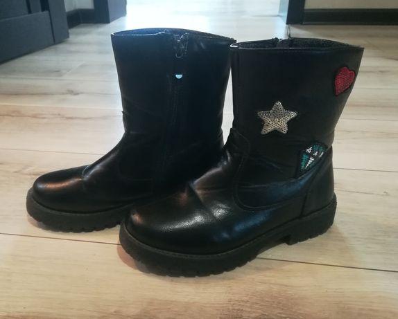 Ботинки осенние , обувь, сапоги для девочки демисезонные