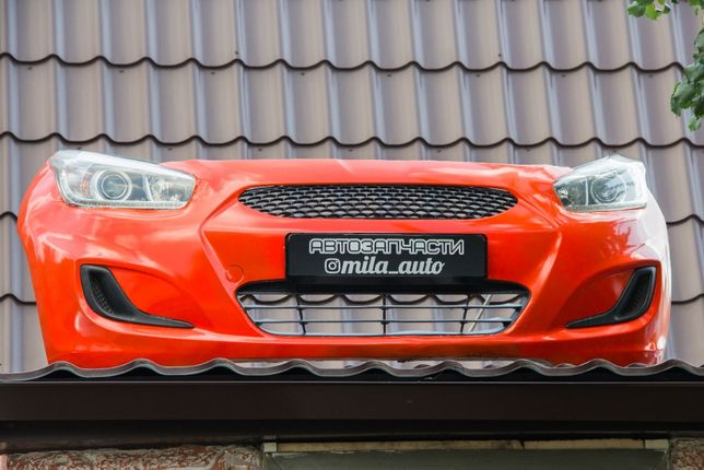 Бамперы Акцент Солярис Рио Hyundai Accent Solaris Kia Rio