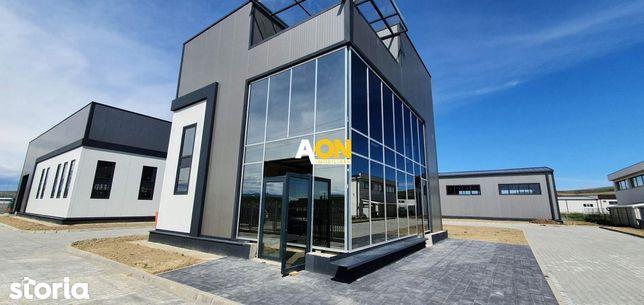 2 Hale industriale si cladire de birouri, constructie noua, Drambar
