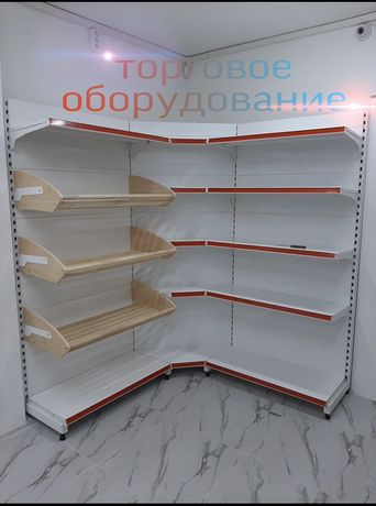 Торговое оборудование , стеллажи и прилавки, витрины, Шымкент