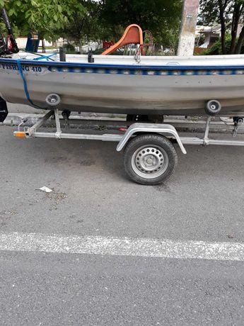 Vand barcă aluminiu Fishing410