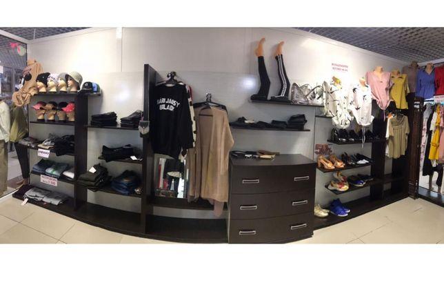 Мебель для бутика одежды и обуви шикарный материал