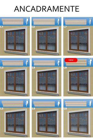 ANCADRAMENT FEREASTRA,ancadramente ferestre,decor fereastra polistiren