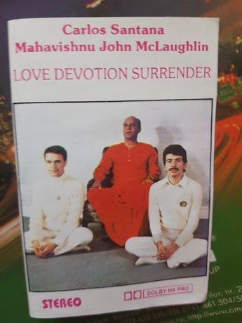 Carlos Santana-John Mc Laughlin- caseta album nouă