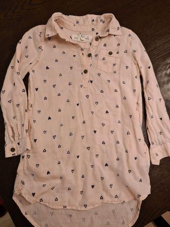 Риза H&M L.O.G.G. размер - 4-5г.