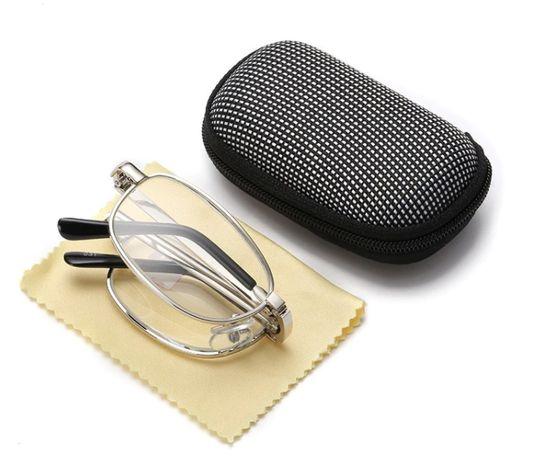 Складные увеличительные очки Фокус Плюс с футляром.