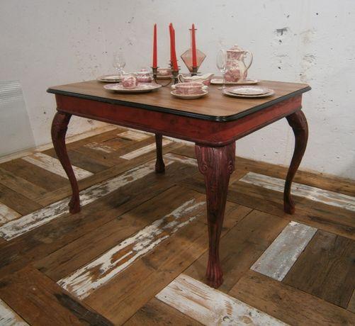Masa veche din lemn reconditionata (Mobila veche)