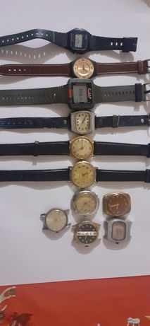 Vand ceasuri vechi mecanice si electronice