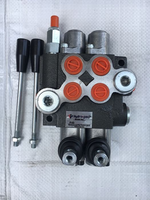 Distribuitor hidraulic doua manete