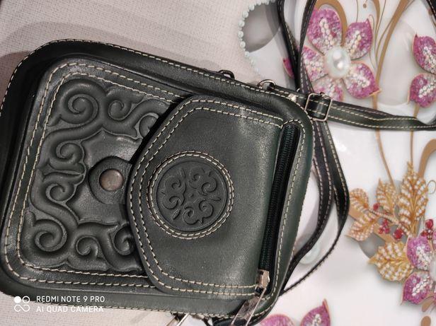 Кожаная сумочка новая