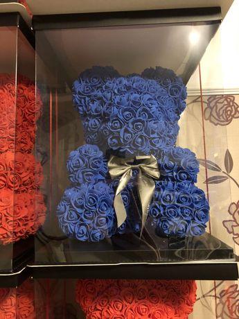 Figurina ursulet bleumarin 40 cm 150 lei