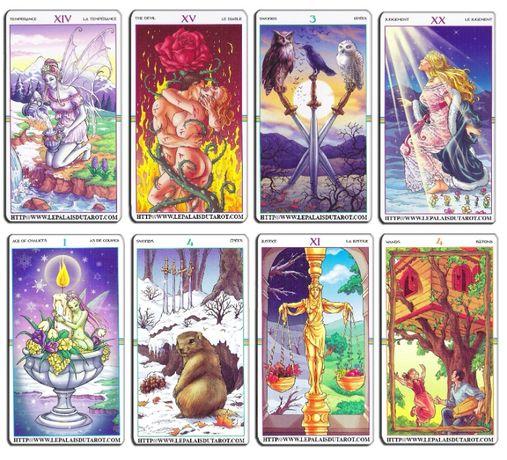 Tarotul Roții Anului,set carti tarot bazat pe Rider Waite,SUPERB-SIGIL