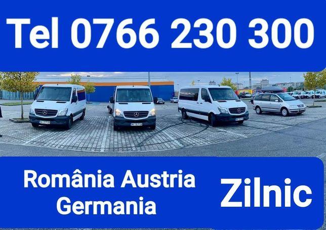 Transport Persoane Caras-Severin Austria Germania La Adresa