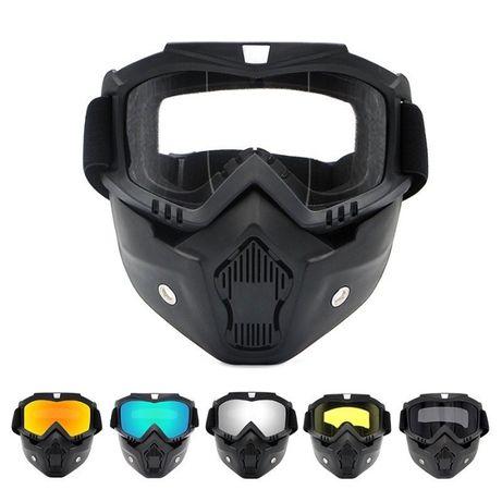 Ochelari Masca Protectie Ski Snowboard Moto Atv Enduro Cross Paintball
