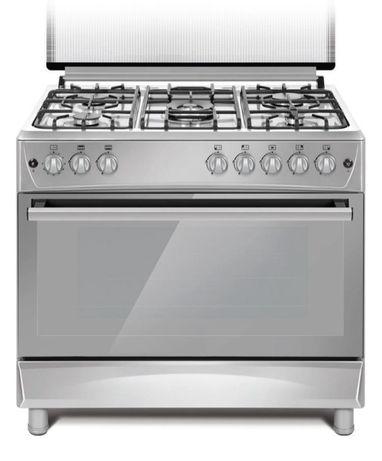 Кухонная плита DAUSCHER E 9404 LX серебристый