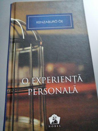 Kenzaburo OE - O experienta personala
