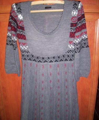 Rochie tricotata traditionala mar L