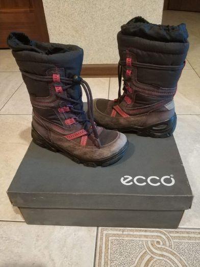 Зимние сапоги ECCO (для девочек)