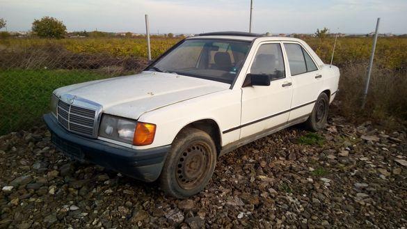 Мерцедес 190Е Теглич 1.8 Mercedes 190E На Части