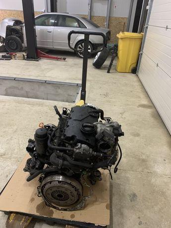 Motor audi a4 b7 1.9 116 cp cod BRB BKE in stare perfecta.filmare