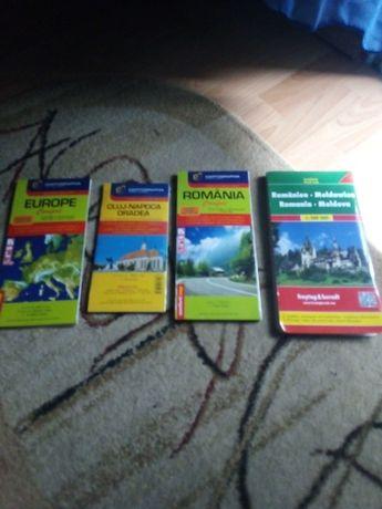 Hărți: România / Cluj / Europa / Moldova