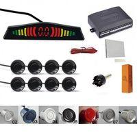 Senzori parcare afisaj display avertizare sonora fata spate 8 set kit