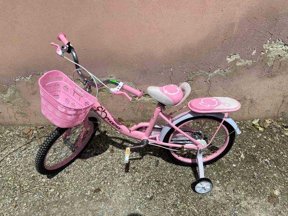 Детски велосипед 18 цола - за момиче