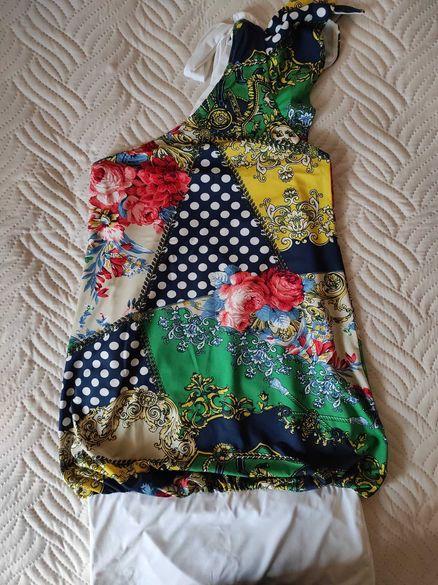 Детска рокля на цветя на фирма юнона