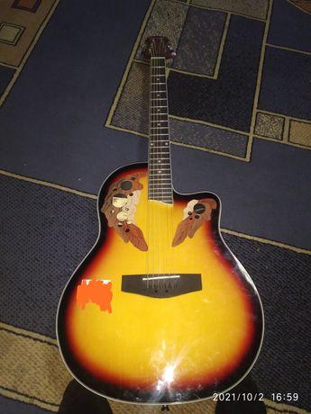 Гитара почти новый