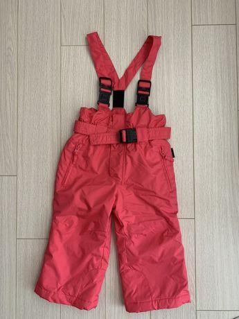 Pantaloni de iarna tip salopeta, 86cm, inpermeabili