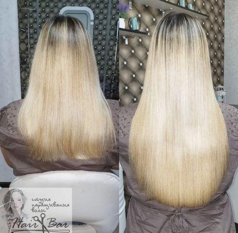 Натуральные волосы 50 см