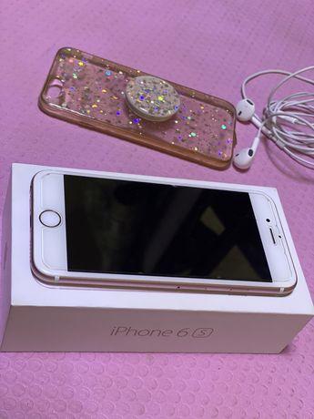 Продам Iphone 6s rose gold, 32 гб в хорошем состоянии