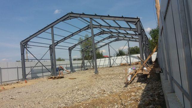 Vand structuri hale metalice diferite dimensiuni garaj