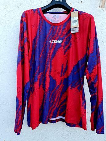 Adidas Performance оригинална дамска блуза Хл размер