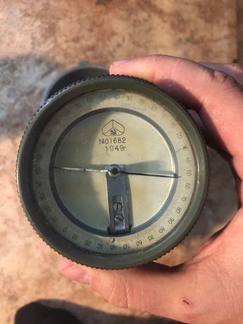 Гониометр ГР военная геодезия, компас Буссоль 1949 год